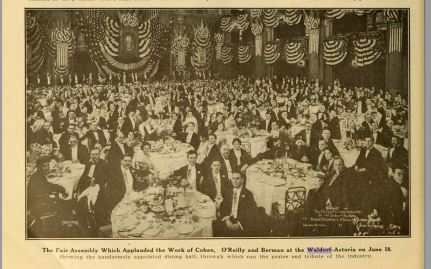 Banquet at the Waldorf
